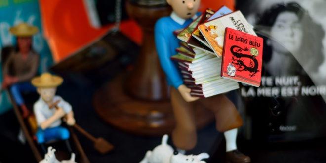 Le tour du monde avec Tintin